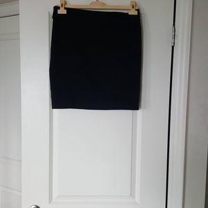 FAVOLOOK (2XL) Blk Mini Skirt